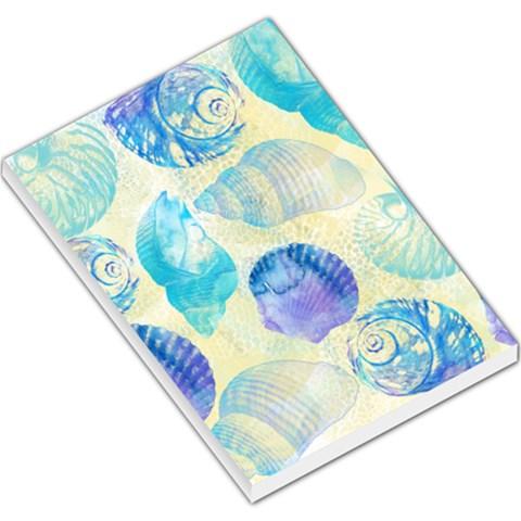 Seashells Large Memo Pads