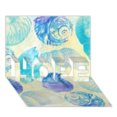 Seashells Hope 3d Greeting Card (7x5)