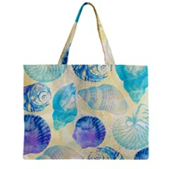 Seashells Zipper Mini Tote Bag