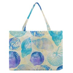 Seashells Medium Zipper Tote Bag