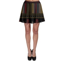Tardis Doctor Who Ugly Holiday Skater Skirt