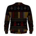 Tardis Doctor Who Ugly Holiday Men s Sweatshirt View2