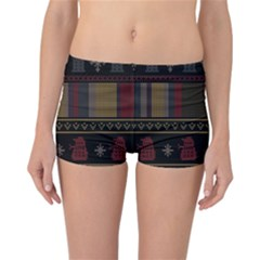Tardis Doctor Who Ugly Holiday Reversible Boyleg Bikini Bottoms