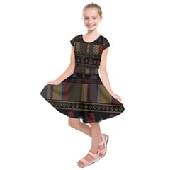 Tardis Doctor Who Ugly Holiday Kids  Short Sleeve Dress