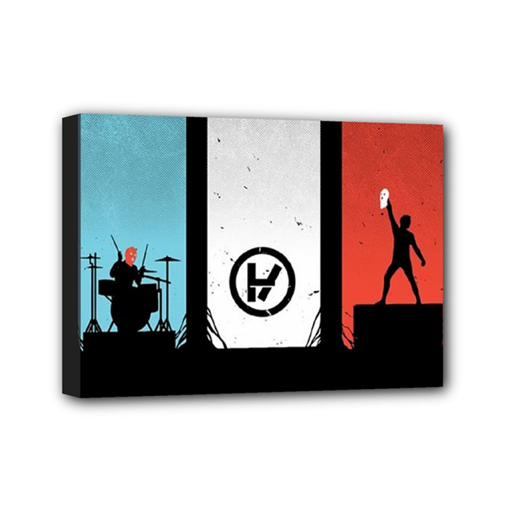 Twenty One 21 Pilots Mini Canvas 7  x 5