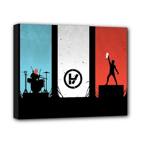 Twenty One 21 Pilots Canvas 10  x 8