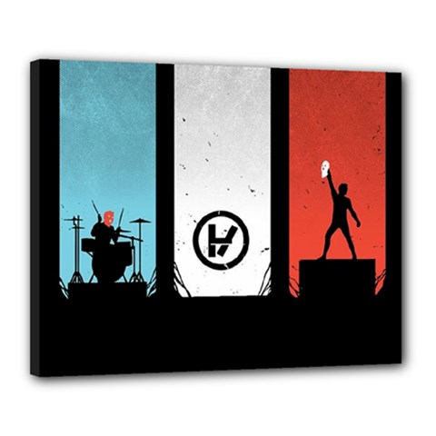 Twenty One 21 Pilots Canvas 20  x 16