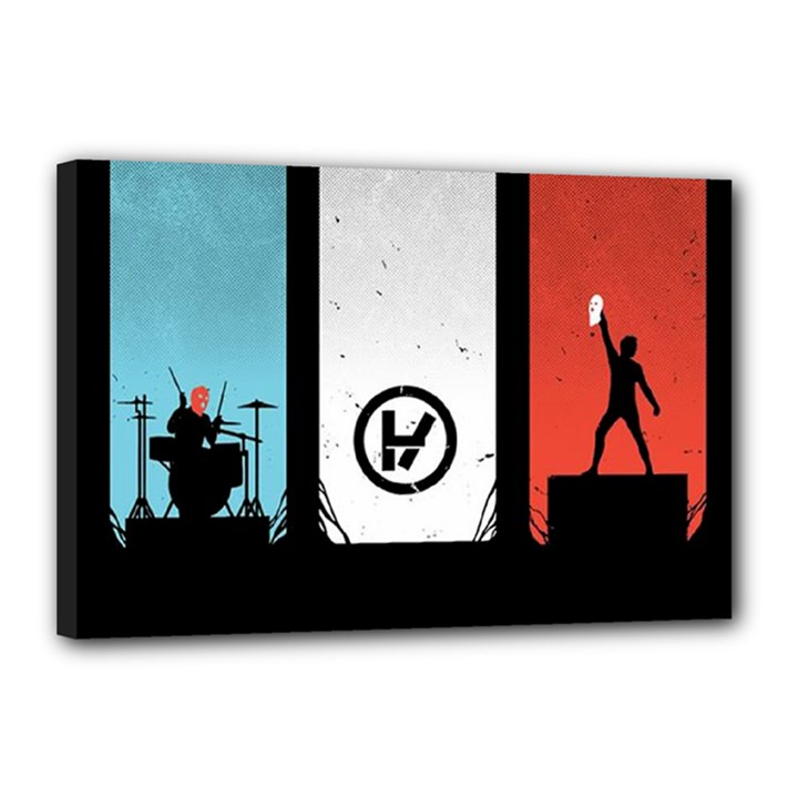 Twenty One 21 Pilots Canvas 18  x 12