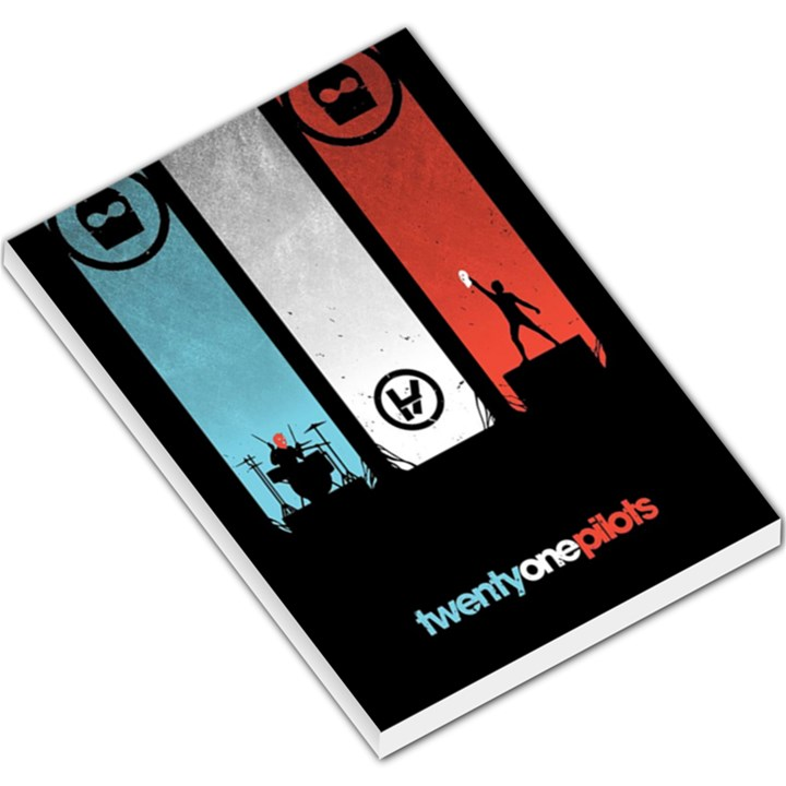 Twenty One 21 Pilots Large Memo Pads