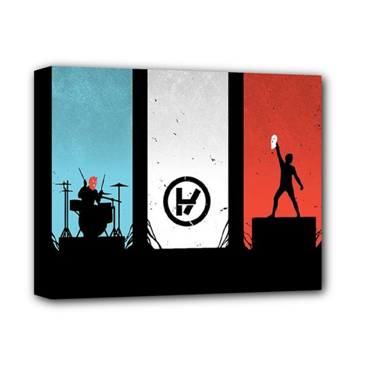 Twenty One 21 Pilots Deluxe Canvas 14  x 11