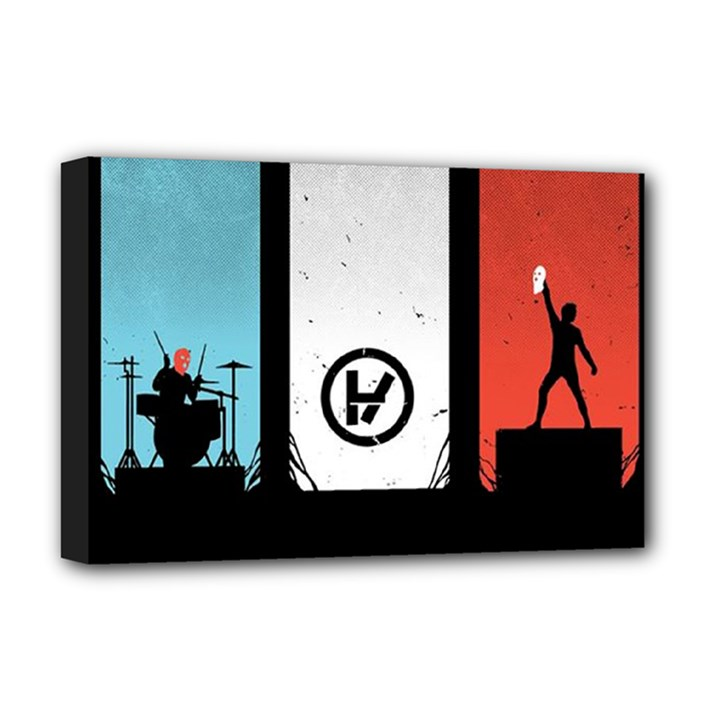 Twenty One 21 Pilots Deluxe Canvas 18  x 12