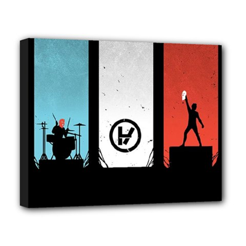 Twenty One 21 Pilots Deluxe Canvas 20  x 16