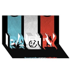 Twenty One 21 Pilots PARTY 3D Greeting Card (8x4)