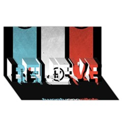 Twenty One 21 Pilots Believe 3d Greeting Card (8x4)