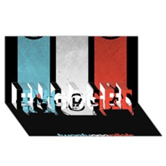 Twenty One 21 Pilots Engaged 3d Greeting Card (8x4)