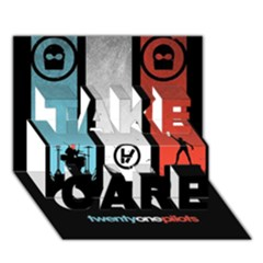Twenty One 21 Pilots Take Care 3d Greeting Card (7x5)
