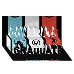 Twenty One 21 Pilots Congrats Graduate 3d Greeting Card (8x4)