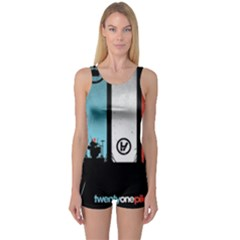 Twenty One 21 Pilots One Piece Boyleg Swimsuit