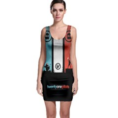 Twenty One 21 Pilots Sleeveless Bodycon Dress