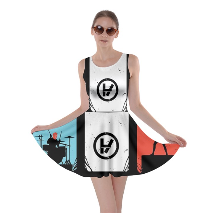 Twenty One 21 Pilots Skater Dress