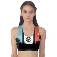Twenty One 21 Pilots Sports Bra