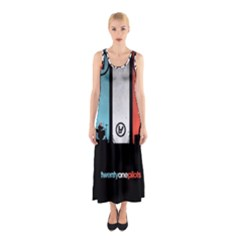Twenty One 21 Pilots Sleeveless Maxi Dress