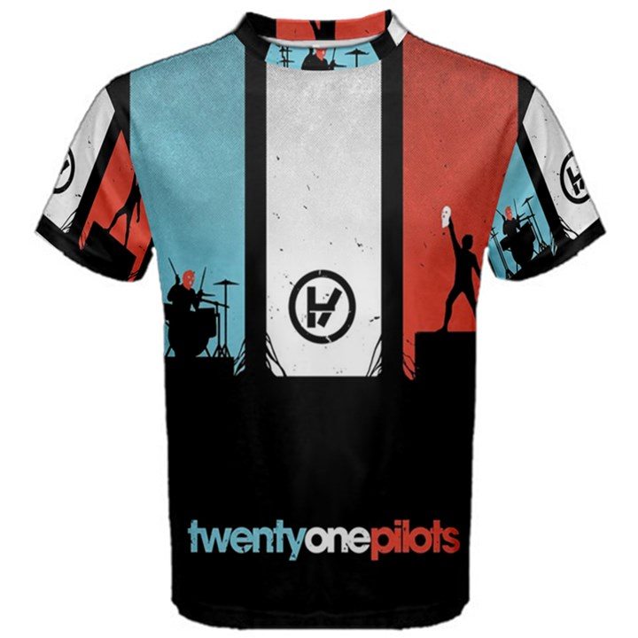 Twenty One 21 Pilots Men s Cotton Tee
