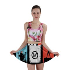 Twenty One 21 Pilots Mini Skirt