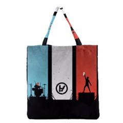 Twenty One 21 Pilots Grocery Tote Bag