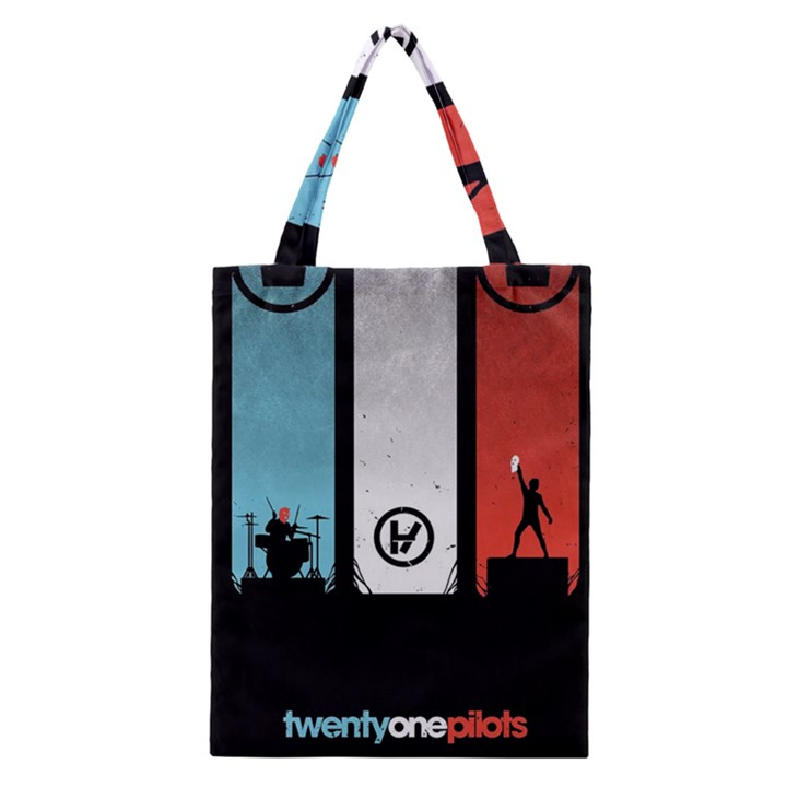 Twenty One 21 Pilots Classic Tote Bag