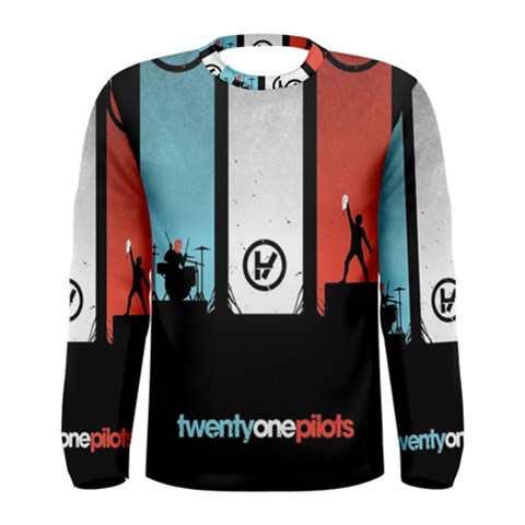 Twenty One 21 Pilots Men s Long Sleeve Tee