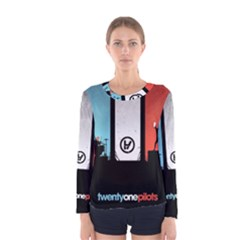 Twenty One 21 Pilots Women s Long Sleeve Tee