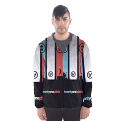 Twenty One 21 Pilots Hooded Wind Breaker (Men)