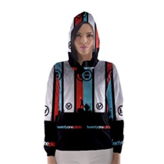 Twenty One 21 Pilots Hooded Wind Breaker (women)