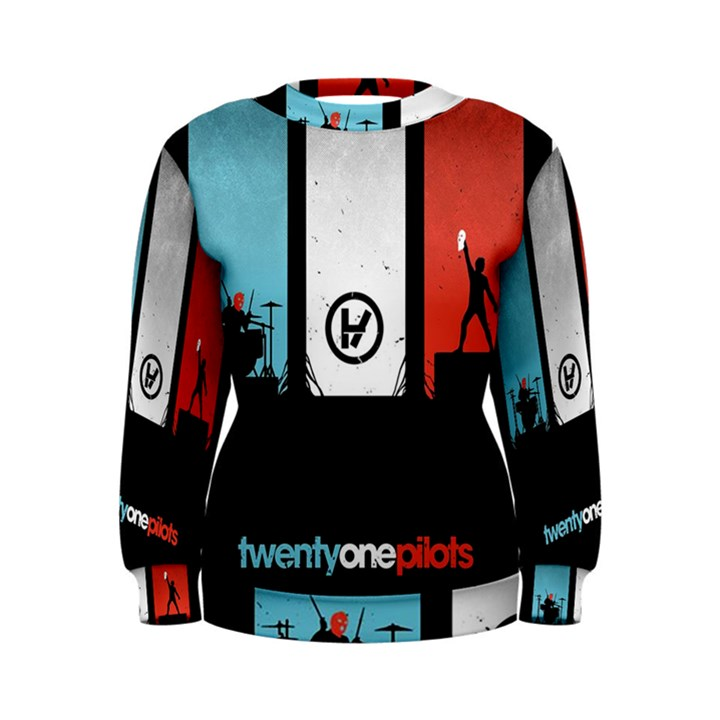 Twenty One 21 Pilots Women s Sweatshirt