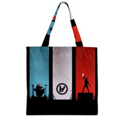 Twenty One 21 Pilots Zipper Grocery Tote Bag