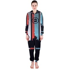 Twenty One 21 Pilots Hooded Jumpsuit (Ladies)