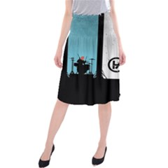 Twenty One 21 Pilots Midi Beach Skirt