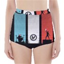 Twenty One 21 Pilots High-Waisted Bikini Bottoms View1