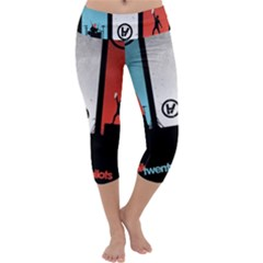 Twenty One 21 Pilots Capri Yoga Leggings