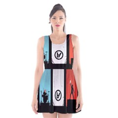 Twenty One 21 Pilots Scoop Neck Skater Dress