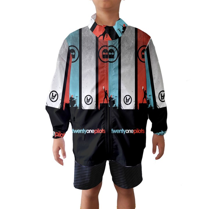 Twenty One 21 Pilots Wind Breaker (Kids)