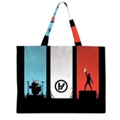 Twenty One 21 Pilots Large Tote Bag