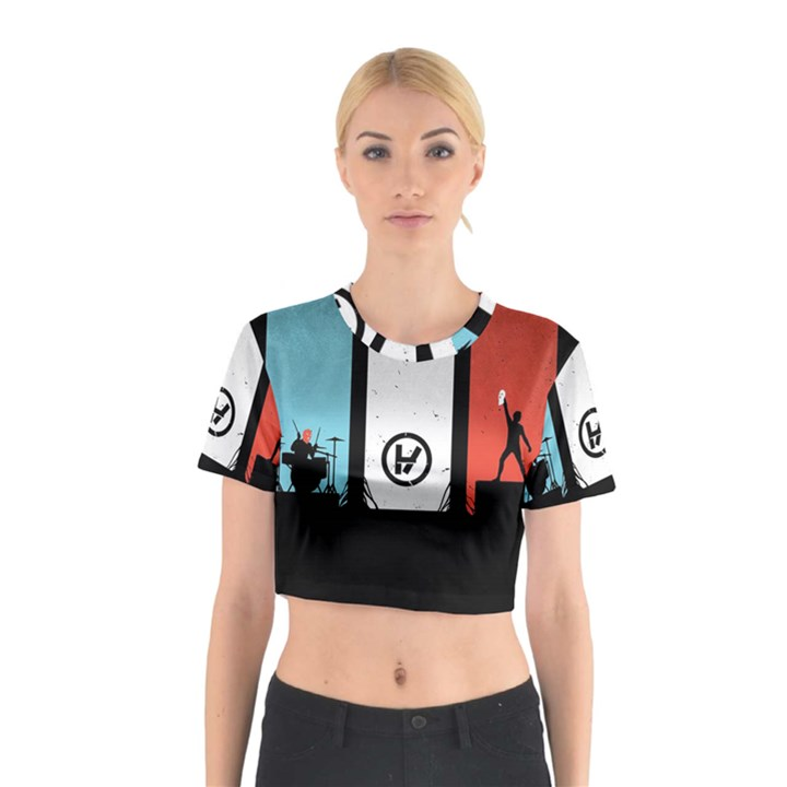 Twenty One 21 Pilots Cotton Crop Top