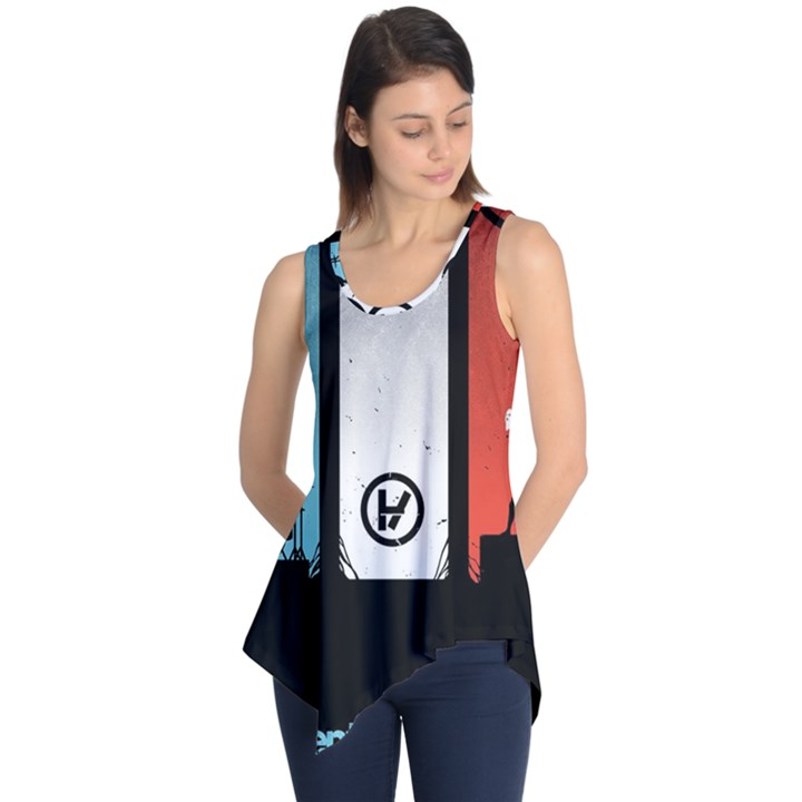 Twenty One 21 Pilots Sleeveless Tunic