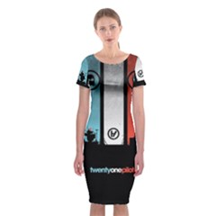 Twenty One 21 Pilots Classic Short Sleeve Midi Dress