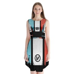 Twenty One 21 Pilots Sleeveless Chiffon Dress
