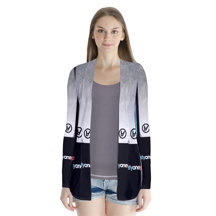 Twenty One 21 Pilots Drape Collar Cardigan