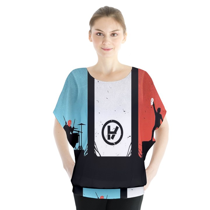 Twenty One 21 Pilots Blouse