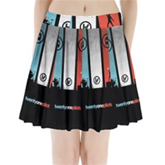 Twenty One 21 Pilots Pleated Mini Skirt